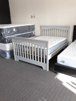 Full Size Mattress & Bed Frame for Sale in St. Louis, MO