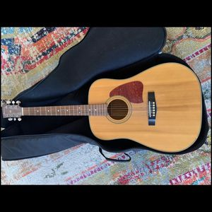 Ibanez Acoustic Guitar 1999 - Comes w/Soft Case for Sale in San Francisco, CA