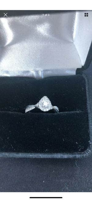 Kay's diamond ring with warranty for Sale in West Orange, TX