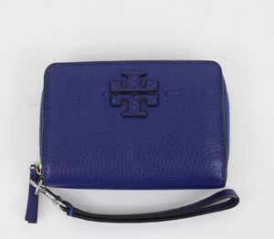 Tory Burch McGraw Zip Wallet Wristlet for Sale in Houston, TX