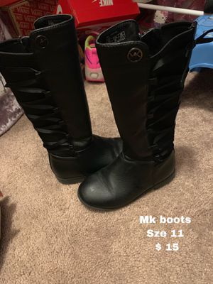 Mk girl boots for Sale in Buda, TX
