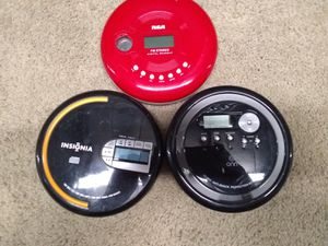 Different brand portable CD players. for Sale in Melbourne, FL