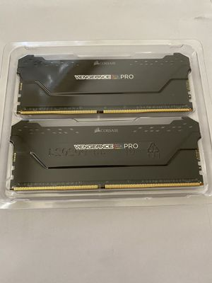 CORSAIR VENGEANCE PRO RGB 32GB 2x16GB 3200mhz for Sale in Irvine, CA