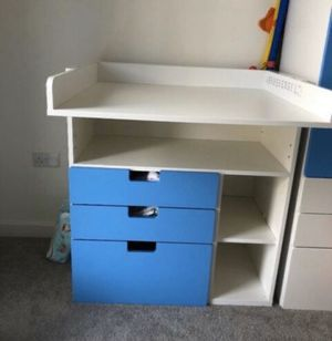 Ikea changing table desk pickup tomorrow in Brighton for Sale in Newton, MA
