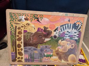 New Melissa and Doug wooden toys and puzzles for Sale in Schaumburg, IL