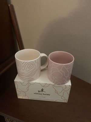 Two new in box Whitney Kearney coffee cups for Sale in Rancho Cucamonga, CA