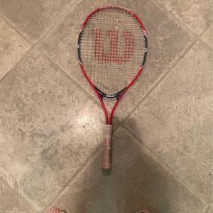 Wilson Tennis racket- for women/kids for Sale in Carlsbad, CA