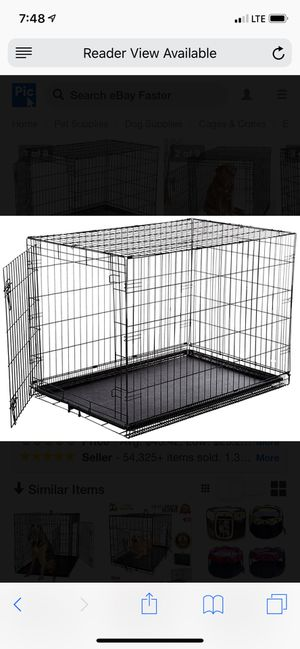 Large dog crate for Sale in Columbia, TN