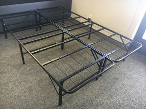Tempo Collection 14in High Profile Platform Smart Base Bed Frame, Full Size for Sale in Santa Ana, CA