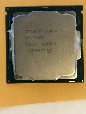 Intel i3 9100T CPU 9th generation for Sale in Tempe, AZ