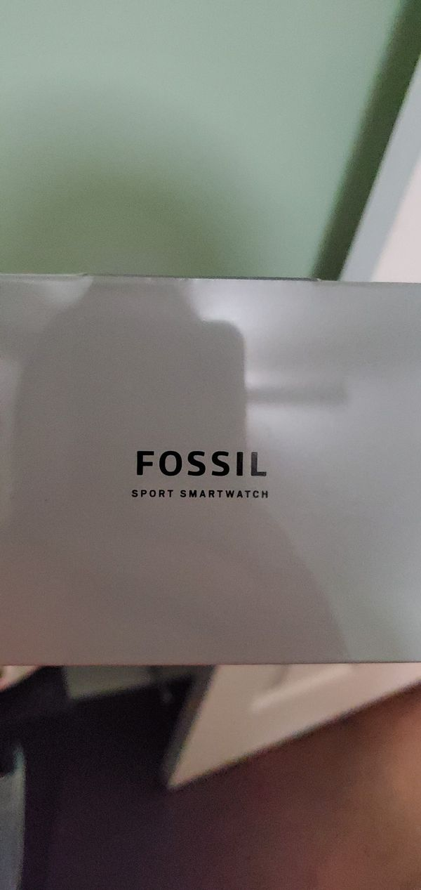 Fossil sports smart watch