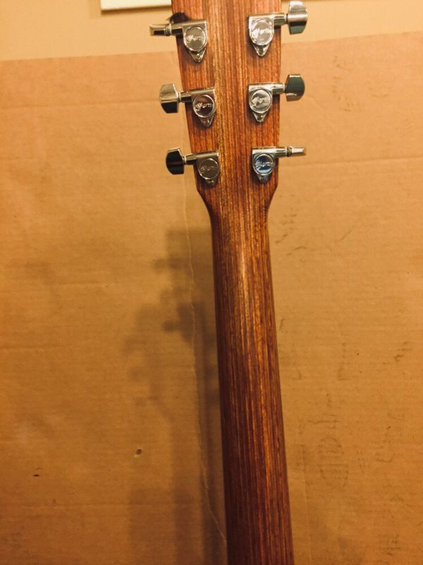 Martin x series OOO acoustic electric guitar
