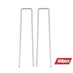 Lawn and Garden Fabric Staplues, U Shaped Staples to Install Artificial Grass and Turf, Rabbit Fence, Galvanized Steel - 11 gauge Galvanized Steel for Sale, used for sale  Ontario, CA