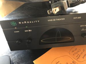 NuReakity vivid 3D theatre; VHT-200; audio system by SRS Labs for Sale in Laguna Beach, CA