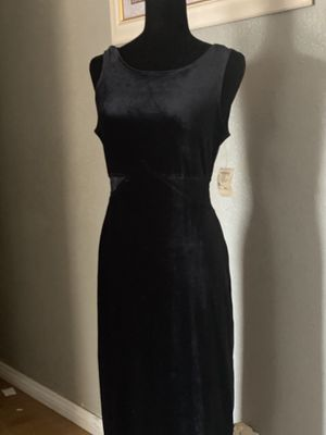 Long black dress with slit for Sale in Tempe, AZ