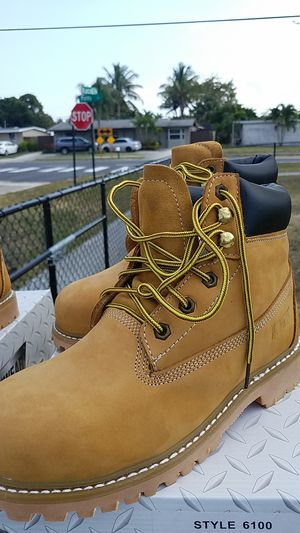 Work boots steel toe for Sale in West Palm Beach, FL