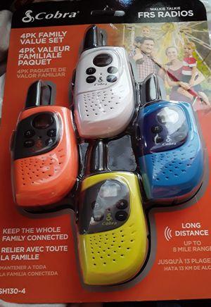 Cobra 4pk FRS radios for Sale in Los Angeles, CA