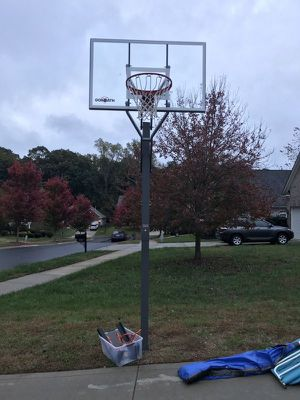 Goliath 54 inch in ground basketball hoop for Sale in Glendale, CA