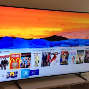 75 INCHES SAMSUNG FRAME QLED - 4K UHD Dual LED Quantum HDR Smart TV with Alexa Built-in for Sale in Los Angeles, CA