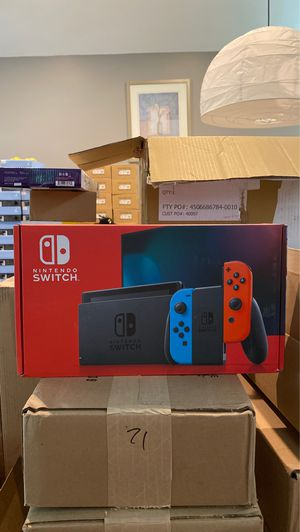 Nintendo Switch Console Neon Red Neon Blue Brand New In Box for Sale in Westminster, CA