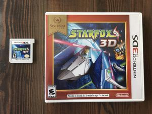 Starfox 64 3D for Nintendo 3DS (and 2DS) for Sale in Brentwood, CA