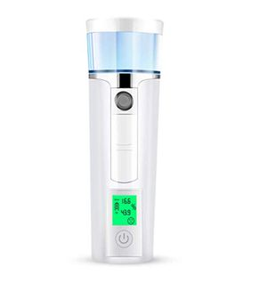 Mini Nano Facial Steamer, Handy Nano Sprayer with Skin Oil Moist Tester, Rechargeable Portable 40ml Cold Mist Moisture 30 Min Spa Humidifier Atomizat for Sale in Upland, CA