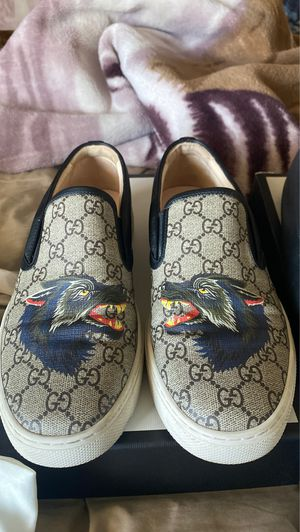 Gucci Supreme GG Wolf Sneakers for Sale in Irvine, CA