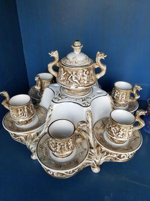 Antique Capodimonte porcelain coffee set for Sale in Cape Coral, FL