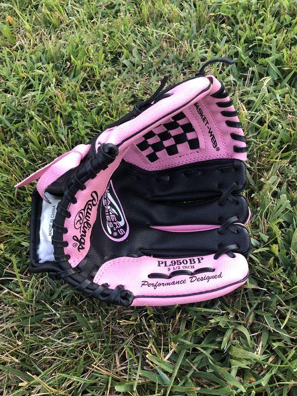 Girls Baseball Glove