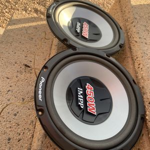 12 Inch Pioneer Subwoofers for Sale in Las Vegas, NV