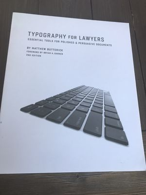 Typography for Lawyers for Sale in Las Vegas, NV