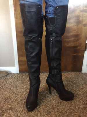 Thigh High Stelleto Boots size 8.5 for Sale in Bakersfield, CA
