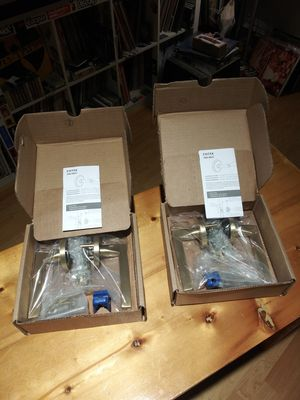 Set of 2 Emtek Helios LeverDoor Hardware.Right Hand.Retail price 104$ for 1 set . for Sale in Brooklyn, NY