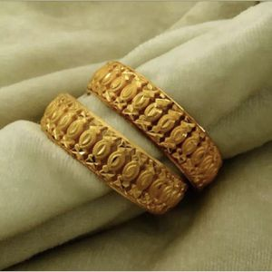 "8.5"" around 2.5"" diameter gold plated women's bangles bracelet jewelry accessory fashion for Sale in Spencerville, MD"