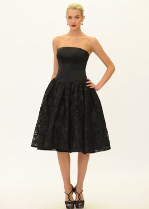 Truly by Zac Posen Black Strapless Dress (Size 10) for Sale in Elkridge, MD