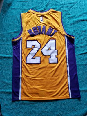 Kobe Lakers #24 Throwback Style Yellow jersey Sizes MEDIUM and LARGE $60 EA for Sale in Monrovia, CA