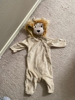 0-6M Pottery Barn Lion Costume for Sale in Beaverton, OR