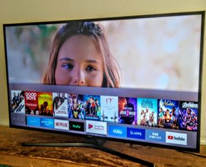 "⏪⏪SMART TV. SAMSUNG 55"" 4K LED WITH SCREEN MIRRORING FULL UHD 2160p 🛑( Negotiable ) ⏩⏩ for Sale in Phoenix, AZ"