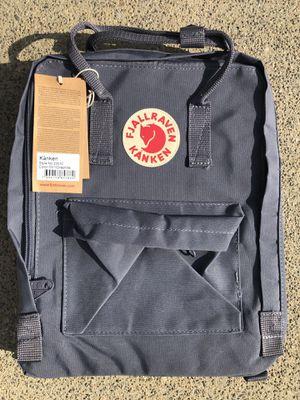 Fjallraven Kanken Backpack color Graphite for Sale in Norwalk, CA