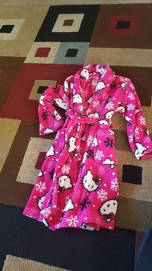 Kids hello kitty robe for Sale in San Jose, CA