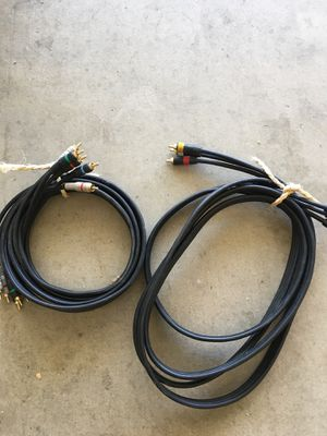 2 pair of RCA jacks. Final price reduction for Sale in Palmdale, CA
