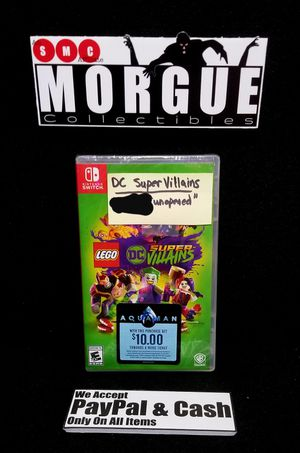Lego DC Super Villains (Nintendo Switch) for Sale in Fort Worth, TX