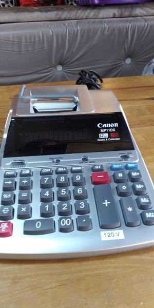 Calculadora Canon eléctrica 2 colores nueva for Sale in Pico Rivera, CA
