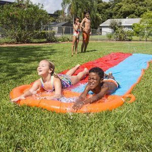 Water Slides - 2 Lanes - 18 ft - Easy Setup for Sale in Chandler, AZ