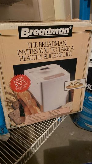 Bread maker machine for Sale in Lake in the Hills, IL