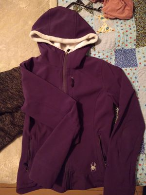 Women's Hooded Spyder Jacket - Size Small for Sale in Willowbrook, KS