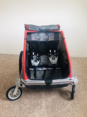 Double stroller, chariot couger, bike trailer for Sale in Denver, CO