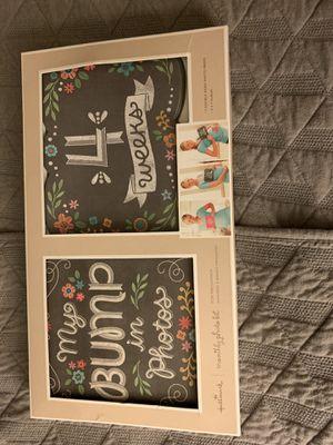 Baby Bump Photo and Scrap Book Set for Sale in Manassas, VA