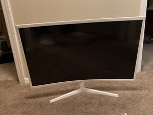 32' Samsung Curved Monitor for Sale in Woodburn, OR