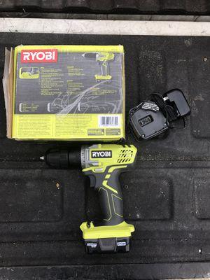 Ryobi drill 12v for Sale in Arlington, TX